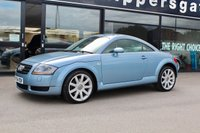 USED 2004 54 AUDI TT 1.8 QUATTRO 3d 225 BHP One for the Collector - This car has to be a future classic. Fantastic Condition 1 Owner From New Glacier Blue Metallic Audi TT 225 Quattro, BOSE Music System, Tracker Security System, Full Service History - serviced every year regardless of mileage, Original Purchase Invoice and Receipt File, Recent Set Of Pirelli Tyres, Book Pack and Spare Keys Present