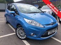 USED 2012 62 FORD FIESTA 1.4 TITANIUM 5d AUTO 96 BHP VERY LOW MILEAGE OF 6,000
