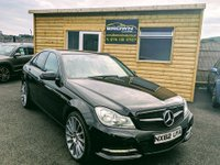 2012 MERCEDES-BENZ C CLASS 2.1 C220 CDI BLUEEFFICIENCY EXECUTIVE SE 4d 168 BHP £8995.00