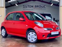 USED 2008 08 NISSAN MICRA 1.2 ACENTA 5d AUTO 80 BHP