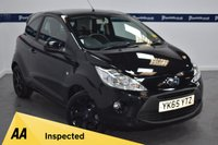 USED 2015 65 FORD KA 1.2 ZETEC BLACK EDITION 3d 70 BHP (ONE OWQNER FROM NEW)