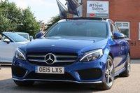 2015 MERCEDES-BENZ C CLASS 2.1 C300 H AMG LINE PREMIUM PLUS 5d AUTO 204 BHP £18995.00