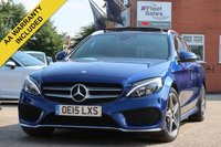USED 2015 15 MERCEDES-BENZ C CLASS 2.1 C300 H AMG LINE PREMIUM PLUS 5d AUTO 204 BHP PREMIUM PLUS SPEC, PANORAMIC ROOF, ELECTRIC TAILGATE