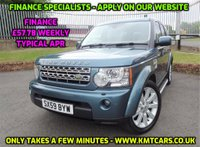 2010 LAND ROVER DISCOVERY 3.0 4 TDV6 XS 5d AUTO 245 BHP £11450.00