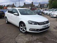 USED 2011 61 VOLKSWAGEN PASSAT 2.0 SE TDI BLUEMOTION TECHNOLOGY DSG 4d AUTO 139 BHP LOW MILEAGE DIESEL AUTOMATIC WITH FULL DEALER  SERVICE HISTORY UPTO 38615