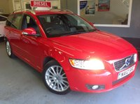 USED 2012 12 VOLVO V50 1.6 DRIVE SE LUX EDITION NAV  Satnav......Heated Leather Seats