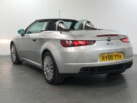 USED 2008 08 ALFA ROMEO SPIDER 3.2 JTS V6 Q4 QTRONIC 2d AUTO 260 BHP RARE LOW MILEAGE AUTOMATIC