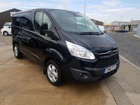 USED 2016 16 FORD TRANSIT CUSTOM 2.2 270 LIMITED LR Panel Van 125 BHP