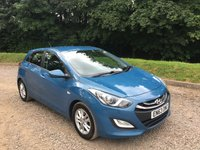 2014 HYUNDAI I30 1.6 ACTIVE BLUE DRIVE CRDI 5d 109 BHP £6285.00