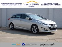 USED 2014 63 HYUNDAI I40 1.7 CRDI ACTIVE BLUE DRIVE 5d 134 BHP Hyundai History Bluetooth A/C Buy Now, Pay Later Finance!