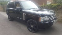 USED 2008 LAND ROVER RANGE ROVER 3.6 TDV8 VOGUE 5d AUTO 272 BHP