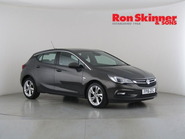 View our 2016 16 VAUXHALL ASTRA 1.4 SRI 5d 148 BHP