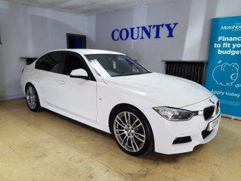 2015 BMW 3 SERIES 2.0 320D M SPORT 4d AUTO 181 BHP £14500.00