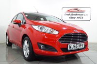 USED 2015 65 FORD FIESTA 1.2 ZETEC 5d 81 BHP The Fiesta is Britain's favourite car and if you're looking for value for money you can't go wrong with this example of ours. we offer ZERO deposit fiance and we welcome your part exchange. To arrange a viwing or test drive simply get in touch and one of our experienced sales team will be pleased to assist.