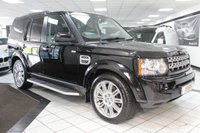 USED 2012 12 LAND ROVER DISCOVERY 4 3.0 SDV6 HSE AUTO 255 BHP TRIPLE ROOF 20'S NAV HOT LTHR