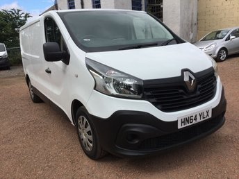 2014 RENAULT TRAFIC 1.6 LL29 BUSINESS DCI S/R P/V 1d 115 BHP £7650.00
