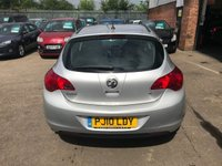 USED 2010 10 VAUXHALL ASTRA 1.6 EXCLUSIV 5d 113 BHP