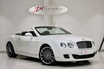 2009 BENTLEY CONTINENTAL 6.0 GTC SPEED 2d AUTO 601 BHP HUGE SPECIFICATION £167K LIST £44950.00