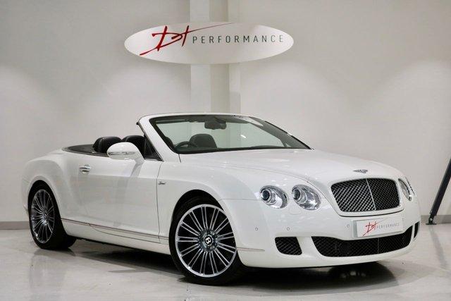 2009 59 BENTLEY CONTINENTAL 6.0 GTC SPEED 2d AUTO 601 BHP HUGE SPECIFICATION £167K LIST