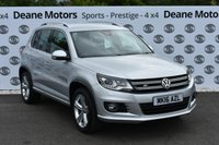 USED 2016 VOLKSWAGEN TIGUAN 2.0 R LINE EDITION TDI BMT 4MOTION 5d 148 BHP TECH PK