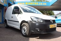 USED 2014 14 VOLKSWAGEN CADDY 1.6 C20 TDI STARTLINE 101 BHP NEED FINANCE??? APPLY WITH US!!!