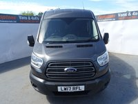 USED 2017 17 FORD TRANSIT 2.0 350 TREND L3 H2 P/V DCIV 1d AUTO 168 BHP FORD TRANSIT CREW TREND L3 H2 AUTO  ALLOYS