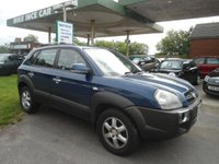 2004 HYUNDAI TUCSON 2.0 CDX CRTD 4WD 5d 111 BHP £1495.00