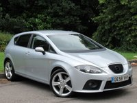 USED 2009 58 SEAT LEON 2.0 FR SPORT TDI 5d 168 BHP JUST BEEN SERVICED, MOT JULY 2020
