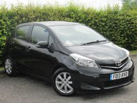 USED 2013 13 TOYOTA YARIS 1.3 VVT-I TR 5d  * BLUETOOTH * TOUCH SCREEN DIGITAL INTERFACE *