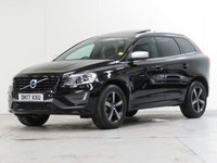 USED 2017 17 VOLVO XC60 2.4 D4 R-DESIGN LUX NAV AWD 5d AUTO 187 BHP [4WD] [£3,050 OPTIONS] PANROOF CAMERA F/R-PARK WINTER...