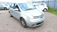 USED 2008 08 NISSAN NOTE 1.4 ACENTA 5d 88 BHP *PX CLEARANCE - NOT INSPECTED - NO WARRANTY - NOT AVAILABLE ON FINANCE - NO PX TAKEN*