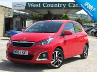 USED 2018 67 PEUGEOT 108 1.2 PURETECH ALLURE 5d 82 BHP Dorset Owned Lovely Condition