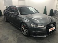 USED 2016 66 AUDI A6 3.0 TDI QUATTRO BLACK EDITION 4d AUTO 320 BHP BI TURBO