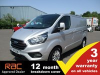 2018 FORD TRANSIT CUSTOM 300 SWB L1 Limited 130ps £15495.00