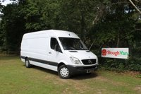 USED 2010 60 MERCEDES-BENZ SPRINTER 2.1 313 CDI LWB Ex Public Service Vehicle With Service History Print Out