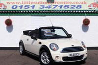 2011 MINI CONVERTIBLE 1.6 ONE 2d 98 BHP £5900.00