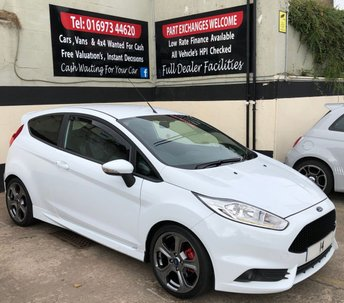 2014 FORD FIESTA ST-2 1.6 ECOBOOST 3DR 180 BHP, STYLE PACK, FSH £9250.00