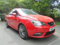 USED 2014 63 SEAT IBIZA 1.4 TOCA 3d 85 BHP SUPPLIED WITH 12 MONTHS WARRANTY AND 12 MONTHS BREAKDOWN COVER