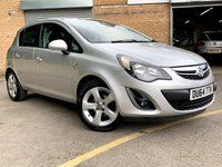 2014 VAUXHALL CORSA 1.4 SXI AC 5 DOOR, ONLY 44K SERVICE HISTORY, 2 FORMER KEEPERS,  £5190.00
