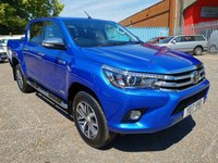 2017 TOYOTA HI-LUX 2.4 INVINCIBLE D/CAB 4x4 PICK UP *AIR CON + SAT NAV* £17495.00