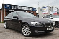 USED 2013 13 BMW 5 SERIES 2.0 520D SE 4d 181 BHP PX CLEARANCE BARGAIN, PRO NAV, SPORT PLUS GEARBOX