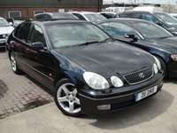 USED 2002 D LEXUS GS 3.0 300 SE 4d AUTO 211 BHP ANY PART EXCHANGE WELCOME, COUNTRY WIDE DELIVERY ARRANGED, HUGE SPEC