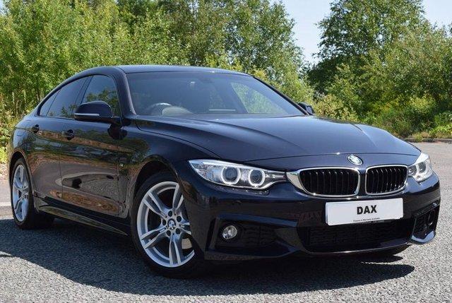 2016 16 BMW 4 SERIES 2.0 420D M SPORT GRAN COUPE 4d AUTO 188 BHP