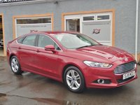 """USED 2015 15 FORD MONDEO 2.0 TITANIUM TDCI 5d 148 BHP Touchscreen Sat Nav, Cruise Control, 3 Service Stamps, 17"""" Alloys, Bluetooth, Microsoft SYNC"""
