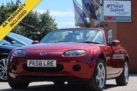 USED 2008 58 MAZDA MX-5 1.8 I 2d 125 BHP CONVERTIBLE + 3 MONTHS AA WARRANTY INCLUDED