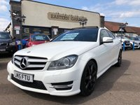 2015 MERCEDES-BENZ C CLASS 2.1 C220 CDI AMG SPORT EDITION PREMIUM PLUS 2d AUTO 168 BHP £SOLD