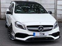 2014 MERCEDES-BENZ A45 Mercedes-Benz 2.0 A45 AMG 7G-DCT 4MATIC 5dr £21995.00