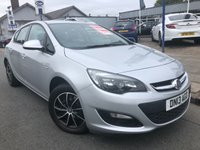 2013 VAUXHALL ASTRA 1.4 EXCLUSIV 5d 98 BHP £SOLD