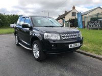 2012 LAND ROVER FREELANDER 2.2 TD4 GS AUTO LEATHER BLACK 73000 MILES CRACKING EXAMPLE  £9495.00