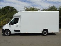 USED 2015 15 VAUXHALL MOVANO F3500 2.3CDTI 123 BHP L3 H1 LOLOADER LOW CHASSIS LUTON VAN +REVERSE CAM+1 OWNER+E/W+